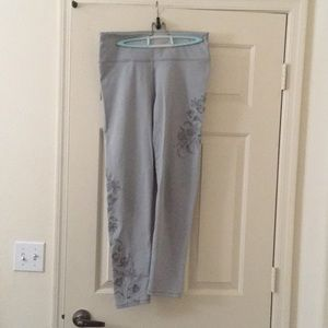 Fabletics grey high rise leggings XL